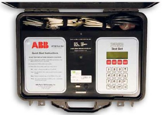 ABB BTSB Secondary Injection Test Set