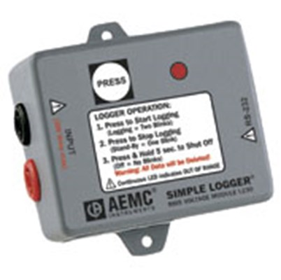 AEMC L230 AC Voltage Simple Logger