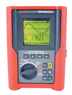Amprobe DM-III Multitest Power Quality Recorder