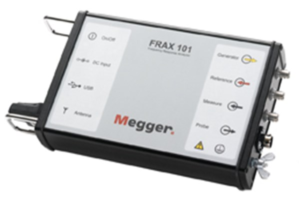 Megger FRAX101 Sweep Frequency Response Analyzer (SFRA)